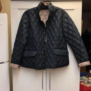 goosedown quilted Eddie Bauer jacket